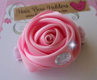 Silk Rose Bling - Baby Girl Pink