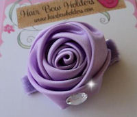 Silk Rose Bling - Lavender Princess