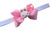Sleepy Bunny Bow + Headband Kit