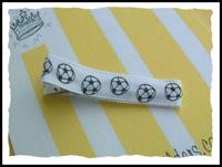 Soccer Hair Clip - Plain