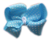 Basic Bows - Swiss Dots - Turquoise