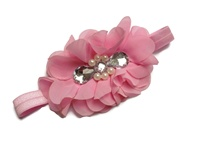 Teardrop Glam Headband - Pretty Pink