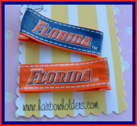 Sports Fan - UF University of Florida Hair Clips