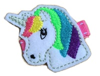 FELT CLIP - Pretty Unicorn