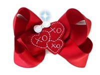 Funky Bows - Valentine's Day XOXO Hair Bow