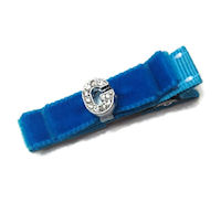 All About The Bling Hair Clip - Gorgeous Blue - Select Her Letter