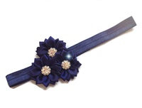 Rhinestone Beauty - Navy Blue