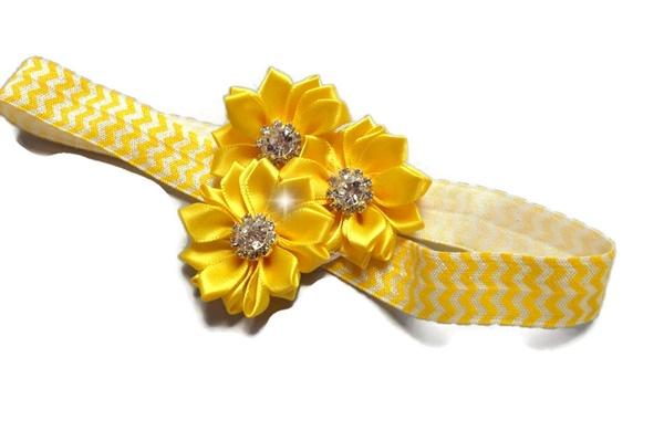 Rhinestone Beauty - Golden Yellow