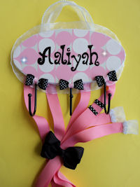 HeadBand + Bows Holder - Aaliyah