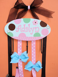 HeadBand + Bows Holder - Adalyn