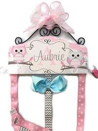 Hair Bow Holder - Owl - Aubrie Style