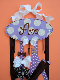 HeadBand + Bows Holder - Ava