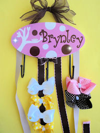 HeadBand + Bows Holder - Brynley