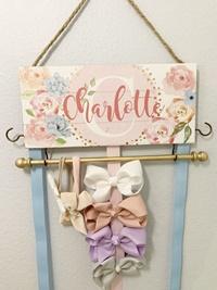 Hair Bow Holder - Charlotte Style