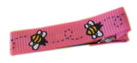 Cool Clips - Bumble Bee - Hot Pink