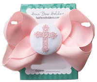 Funky Bows - Pink Cross Bow