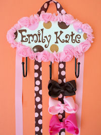 HeadBand + Bows Holder - Emily Kate