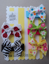 Infant Hair Pretties - Set of 5 - Playful and Fun Baby