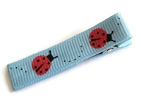 Cool Clips - LadyBug - Red on Blue