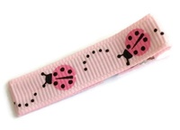 Cool Clips - LadyBug - Pink on Pink