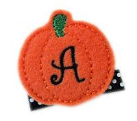 FELT Pumpkin - Monogram