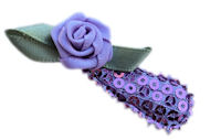 Cutie Snap Clips - Sophie - Sweet Rose Lavender on Sequins