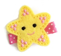 FELT CLIP - Pretty Girl Starfish