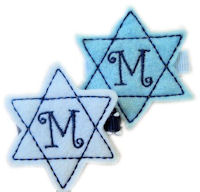 Star of David - TEAM BABY BLUE & WHITE - Monogram