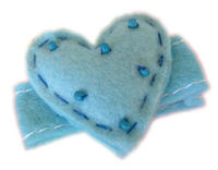 Sweet Biscuit - Heart - Robins Egg Blue