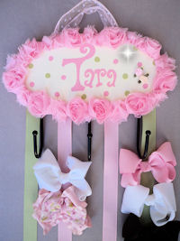 HeadBand + Bows Holder - Tara