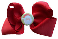 Santa Clause - Red Bow