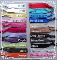Trendy Ties - U PICK the Color!