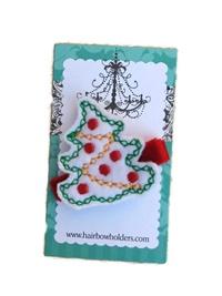 FELT CLIP - Christmas Tree with Bulbs